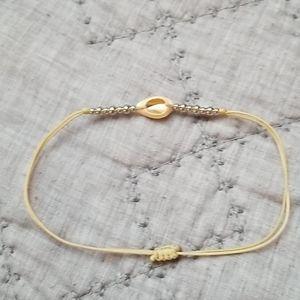 Adjustable Sea Shell Bracelet